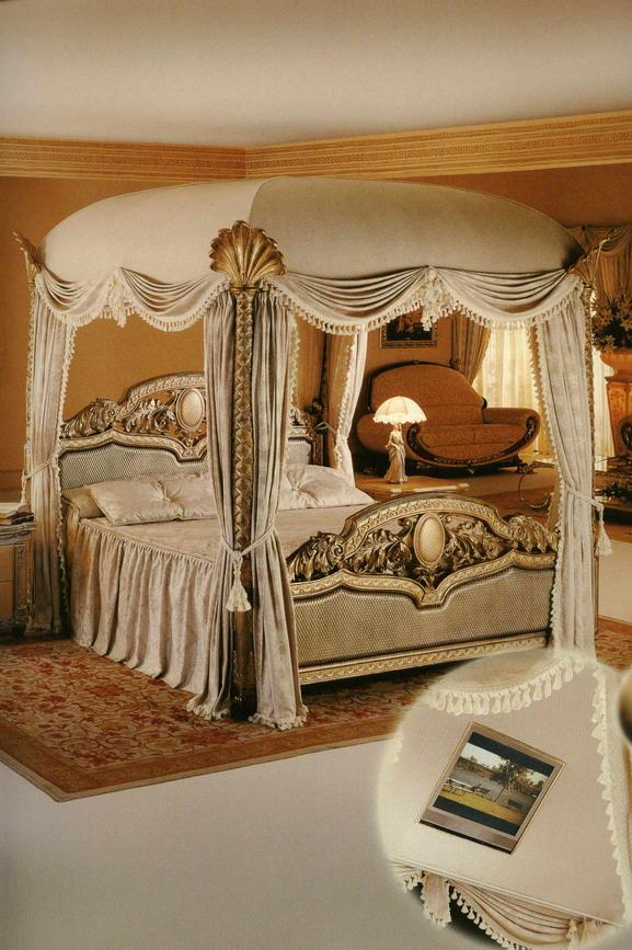 himmelbett sherezade breite 200 k nigliches wohnen luxuspur. Black Bedroom Furniture Sets. Home Design Ideas