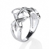 Schmuck Ring Starfish in 925er Sterling Silber